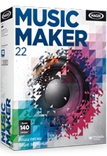 MAGIX Music Maker 22 электронная лицензия