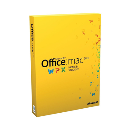 Office Mac Home Student 2011 Russian Russia Only EM DVD No Skype